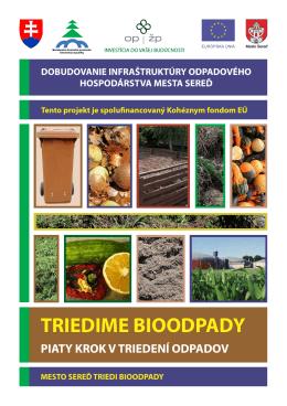 Bioodpad - Portál odpadového hospodárstva mesta Sereď