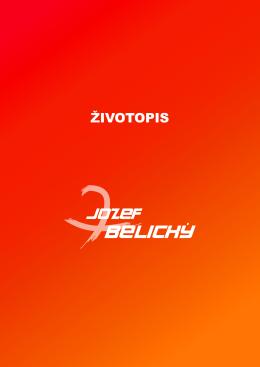 ŽIVOTOPIS - jozefbelicky.sk