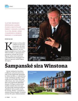Šampanské sira Winstona