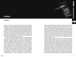 Editoriál - Časopis Profil súčasného umenia