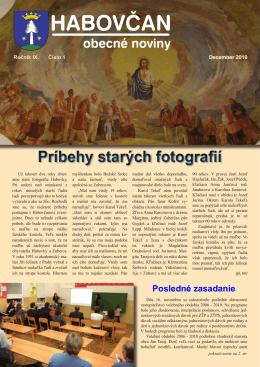 Habovčan 01/2010 (1,5 MB formát PDF)