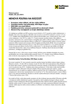 Tlačová správa - Raiffeisen banka