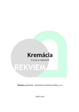 Kremácia - Rekviem Košice