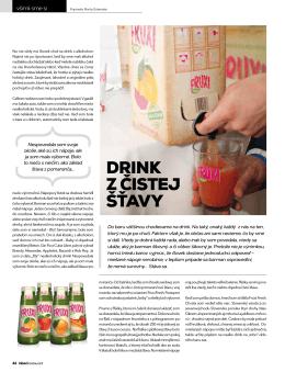 Drink z čistej šťavy 2013-03-19