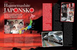 Hajimemashite JAPONSKO - Kamila Kay Strelka