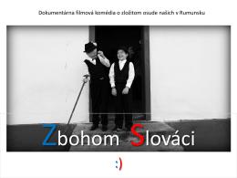 Zbohom Slováci