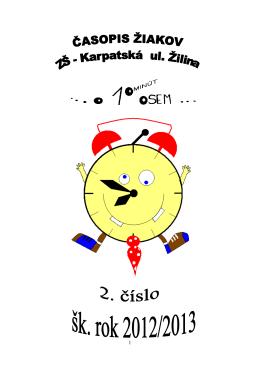 Číslo 2_2012 - Základná škola, Karpatská 8063/11, Žilina