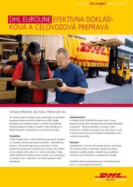Stiahnuť brožúrku DHL EuroLine