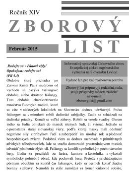 Februar 2015.pdf - Domov - ECAV