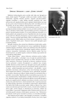"""Oswald Spengler a jeho """"Zánik západu"""