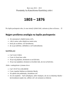 Body 1803 až 1876