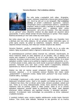 Veronica Rossiová – Pod vražednou oblohou Pre mňa jedna z