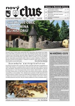 Obecné noviny č.8 - 2014