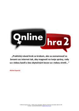 Klikni sem - online