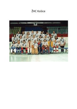 Ženský hokej v Košiciach - vznik