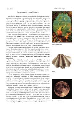 Lastúrniky a vznik Mesiaca Ono mocné pôsobenie Luny
