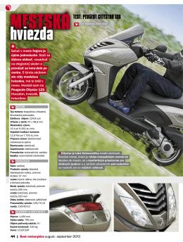 hviezda - Peugeot Scooters