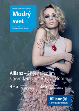 Modrý svet - Allianz - Slovenská poisťovňa