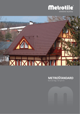 MetroŠtandard - Katalóg krytín1.09 MB