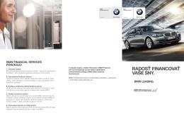 Stiahnuť Leták BMW Leasing (PDF, 3593 kB). - fs