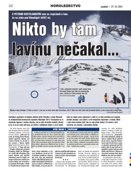 Šport 27.10.2014, strana 32