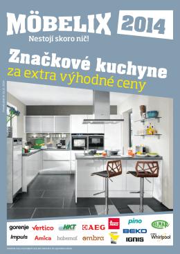 Značkové kuchyne - Hypermarkety.sk
