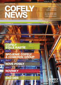 Cofely news September 2012
