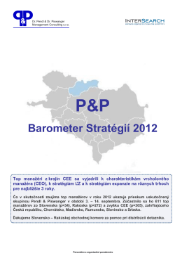 P&P - Dr. Pendl & Dr. Piswanger Management Consulting