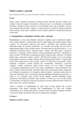 Topografické hry a cvičenia (František Seman)