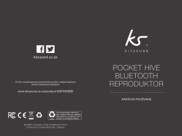 Pocket Hive BluetootH reProduktor