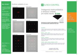 Econ - Eltech Control sro