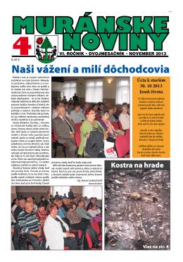 Muránske noviny 4 2013