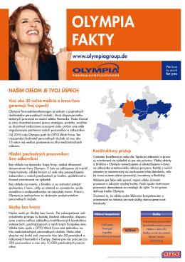 OLYMPIA FAKTY - Olympia Personaldienstleistungen