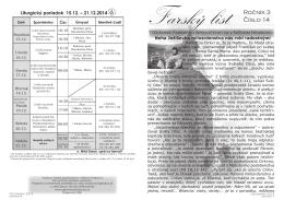 Farský list č. 14 - grkatniznyhrabovec.sk
