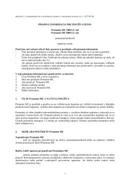 PIL - Písomná informácia pre používateľov (PDF)