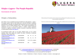 Vitajte v Lugere– The People Republic