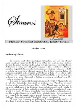 Stauros 17/2010