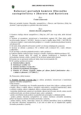 Rokovací poriadok komisie408.06 KB