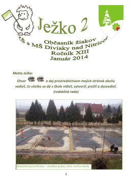 jezko_2_201314 - ZŠ s MŠ Diviaky nad Nitricou