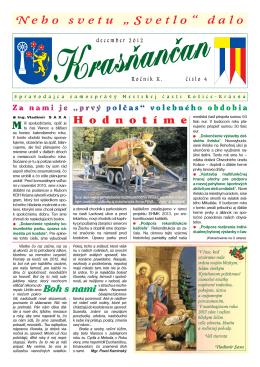 Krasňančan 0412 - Mestská časť Košice Krásna