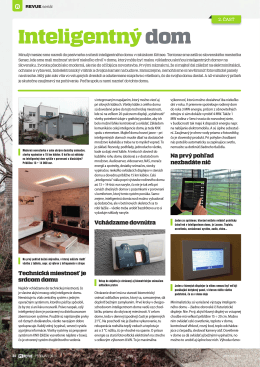 Inteligentný dom - Schneider Electric