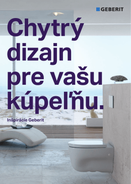 Kúpeľne - Geberit
