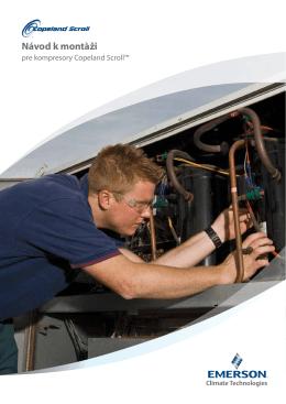 Návod k montŕži - Emerson Climate Technologies
