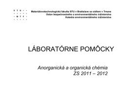 Laboratórne pomôcky