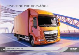 DAF LF Euro 6 brochure