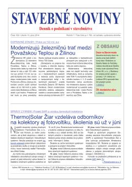 Stavebné noviny