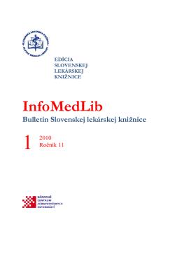 číslo 1/2010 - Slovenská Lekárska Knižnica