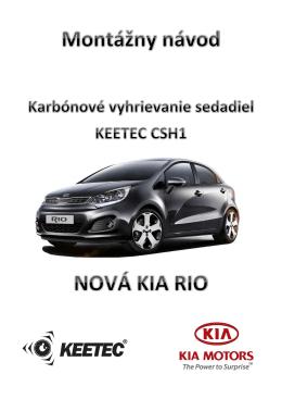 Montážny návod Kia Rio CSH1 - Auto