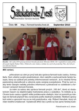 Svätokatarínske Zvesti - Rímskokatolícka farnosť Rajecké Teplice