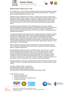 Tlačová správa v PDF